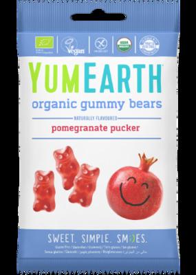 Gummy Bears Pomegrenate (Bag) - Yum Earth Organic