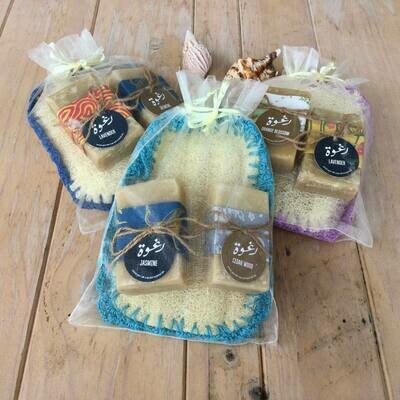 Soap and Loofah (Package) - Raghwé Soap