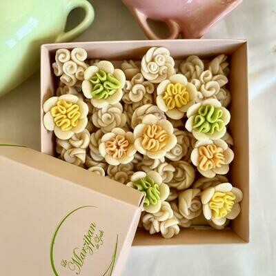 Marzipan Handcrafted Flower Mix - Easter Edition (Box) - Le Marzipan de Zouk