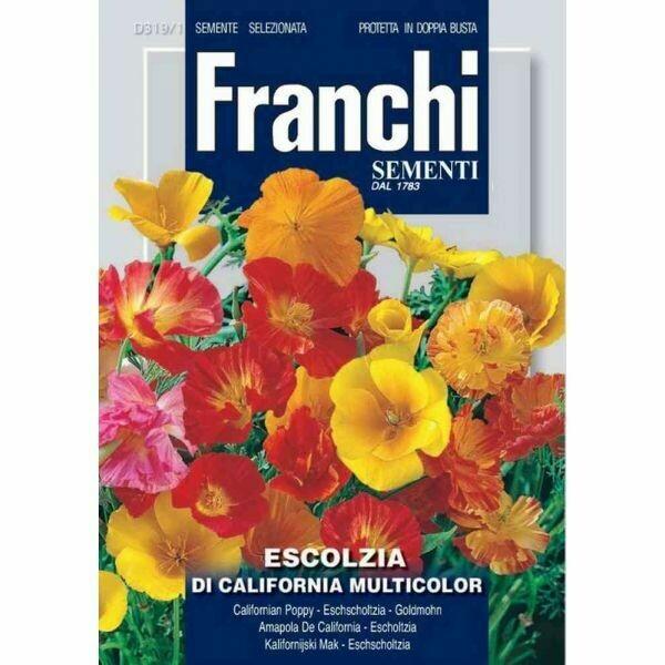 Eschscholzia californica (Bag) - Franchi Sementi