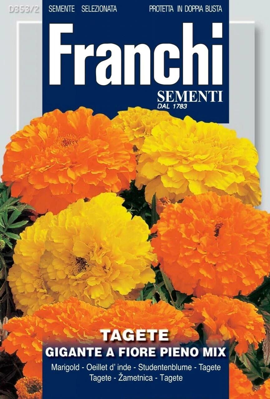 Tagetes erecta (Bag) - Franchi Sementi