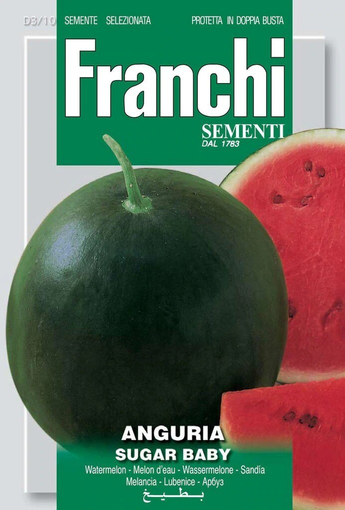 Watermelon Sugar Baby (Citrullus lanatus Thunb.) (Bag) - Franchi Sementi