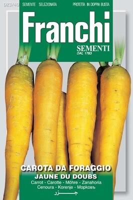 Carrot Jaune du Doubs (Daucus Carota) (Bag) - Franchi Sementi