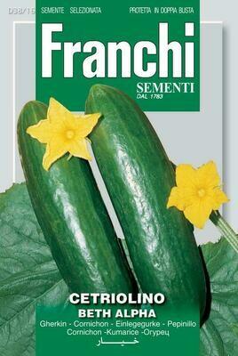 Cucumber Beth Alpha (Bag) - Franchi Sementi