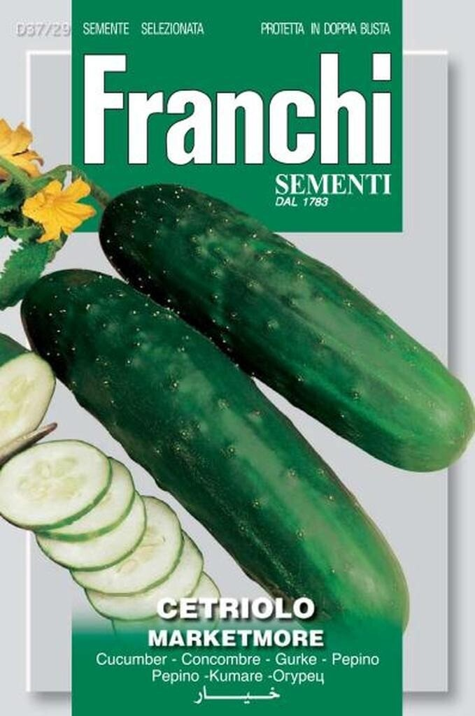 Cucumber Marketmore (Bag) - Franchi Sementi