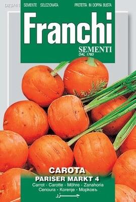 Carrot Parisier Markt (Daucus Carota) (Bag) - Franchi Sementi