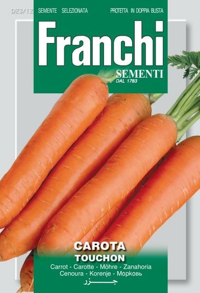 Carrot Touchon (Daucus Carota) (Bag) - Franchi Sementi