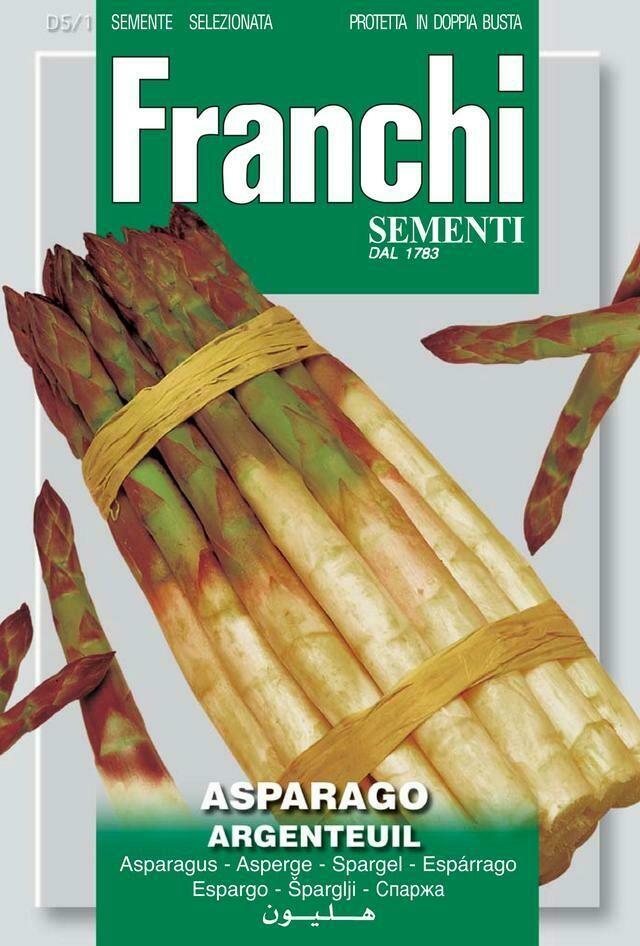 Asparagus Of Argenteuils (Asparagus Officinalis) (Bag) - Franchi Sementi