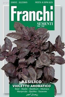 Basil Violetto Aromatico / Dark Opal (Ocimum basilicum L.) (Bag) - Franchi Sementi