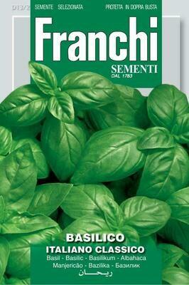 Basil Italiano Classico (Ocimum basilicum L.) (Bag) - Franchi Sementi