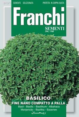 Basil Fine Verde Greek (Ocimum basilicum L.) (Bag) - Franchi Sementi