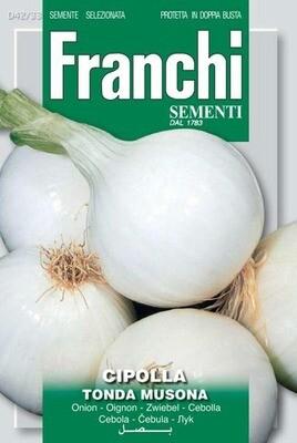 Onion White Tonda Musona (Allium cepa L.) (Bag) - Franchi Sementi