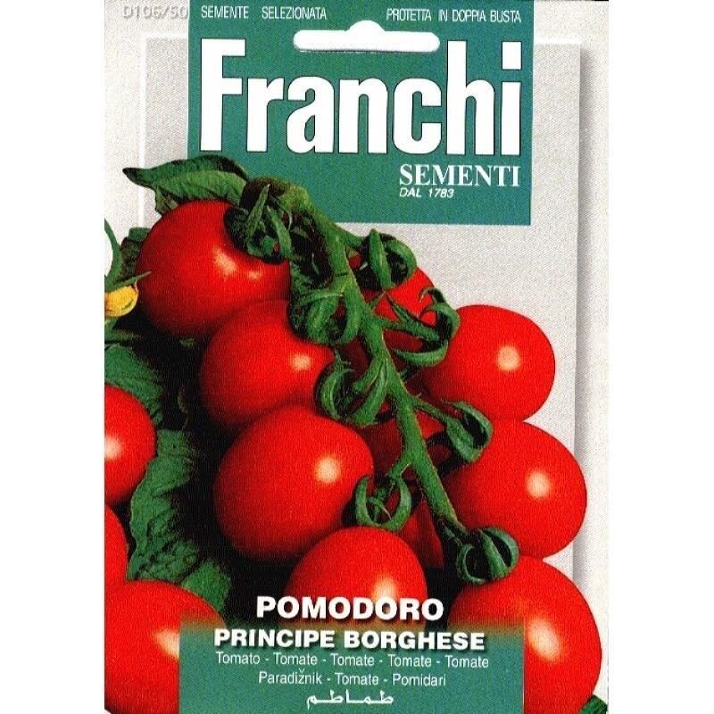 Tomato Borghese or Eternal tomatoes (Solanum Lycopersicum L.) (Bag) - Franchi Sementi