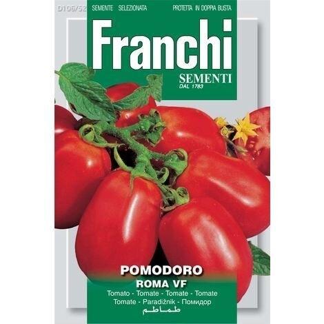 Tomato Roma (Solanum Lycopersicum L.) (Bag) - Franchi Sementi
