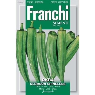 Okra Clemson Spineless (Bag) - Franchi Sementi