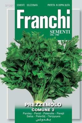 Parsley Comune (Petroselinum crispum Miller) (Bag) - Franchi Sementi