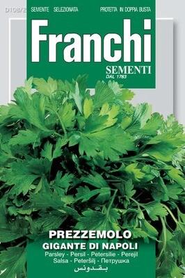 Parsley Gigante di Napoli (Petroselinum crispum Miller) (Bag) - Franchi Sementi