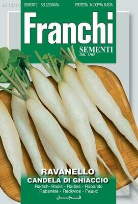 Radish Candela Di Ghiaccio (Raphanus sativus L.) (Bag) - Franchi Sementi