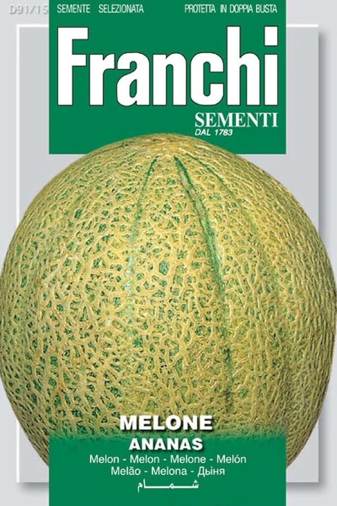 Melon Ananas (Cucumis melo L.) (Bag) - Franchi Sementi
