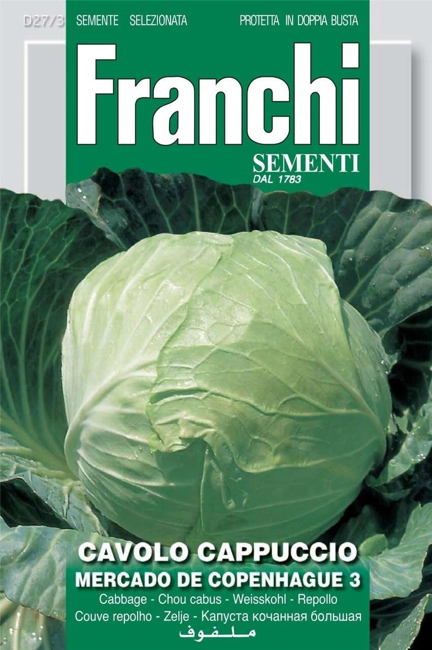 Cabbage Copenhague (Bag) - Franchi Sementi