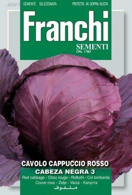 Cabbage Red Tete Noire (Bag) - Franchi Sementi