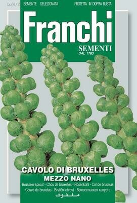 Brussels Sprouts (Bag) - Franchi Sementi