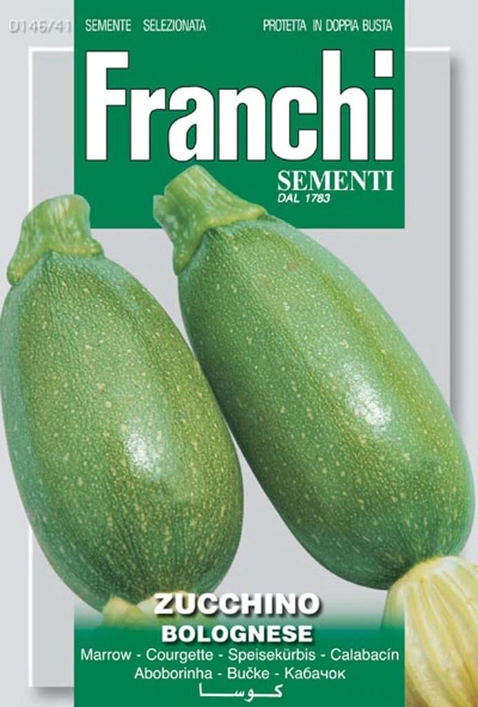 Zucchini Bolognese (Bag) - Franchi Sementi