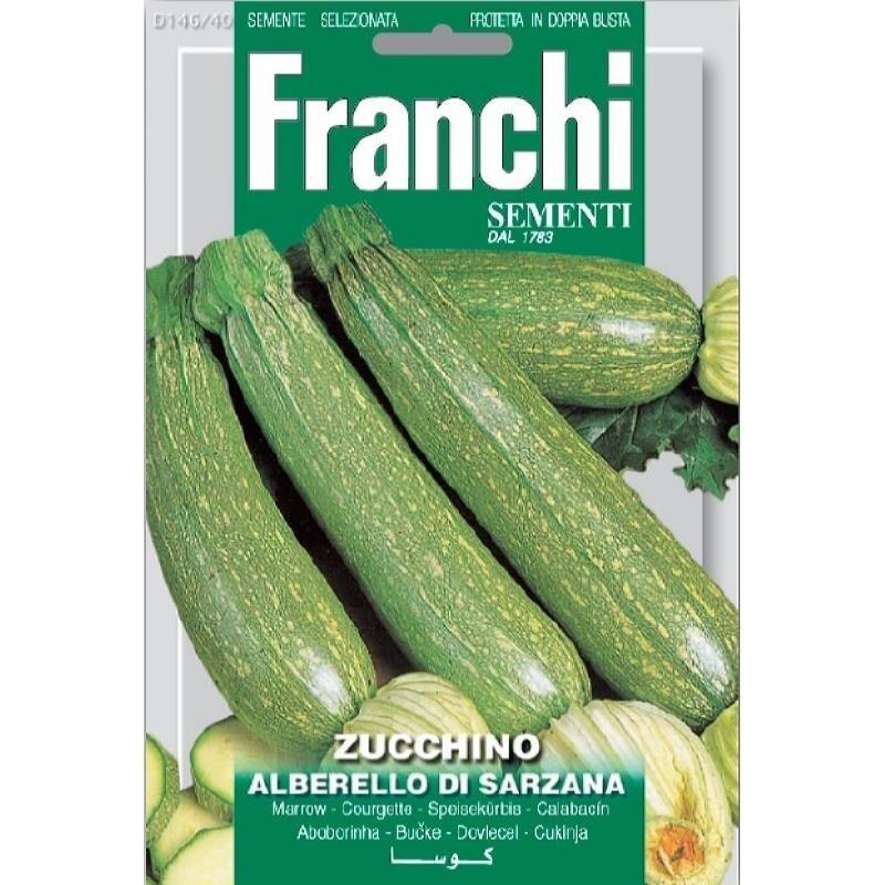 Zucchini Alberello of Sarzana (Bag) - Franchi Sementi