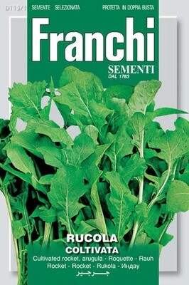 Arugula Cultivated or Wild Rocket (Diplotaxis tenuifollia)(Bag) - Franchi Sementi