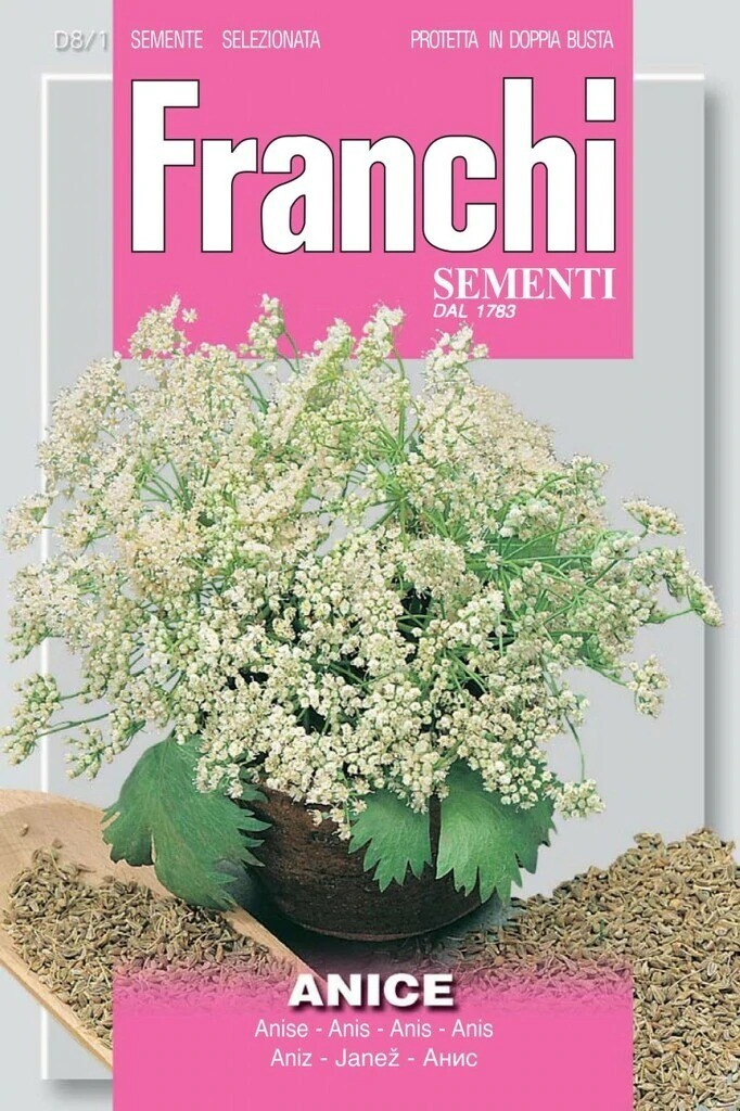 Anise (Bag) - Franchi Sementi