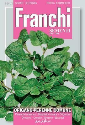 Oregano (Origanum Vulgare) (Bag) - Franchi Sementi