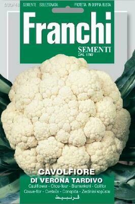 Cauliflower Verona Tardivo (Bag) - Franchi Sementi