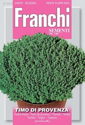 Thyme of Provence  (Thymus Officinalis) (Bag) - Franchi Sementi