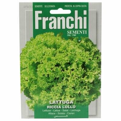 Lettuce Lollo Bionda (Lactuca sativa L.) (Bag) - Franchi Sementi