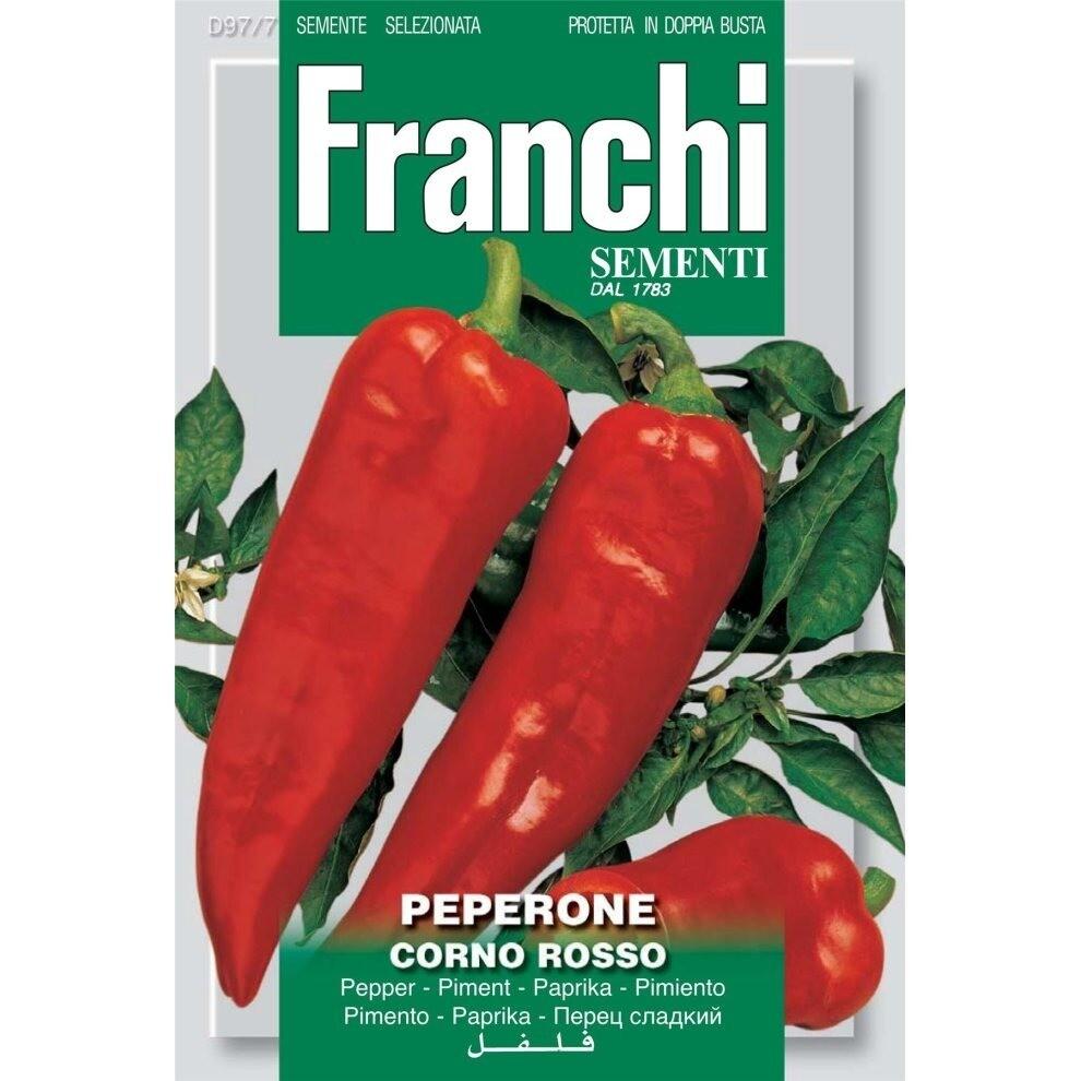 Pepper Corno Rosso (Capsicum annuum L.) (Bag) - Franchi Sementi