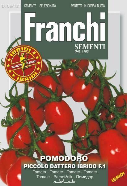Tomato Baby Plum (Solanum Lycopersicum L.) (Bag) - Franchi Sementi