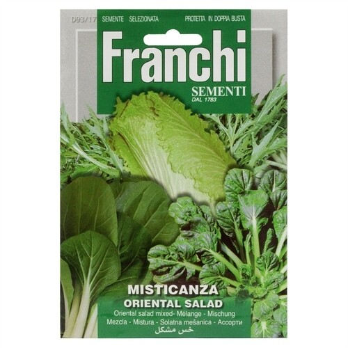 Oriental Leaves Mix (Bag) - Franchi Sementi