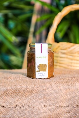 Honey & Propolis العسل والعكبر (Jar) - Nature by Marc Beyrouthy