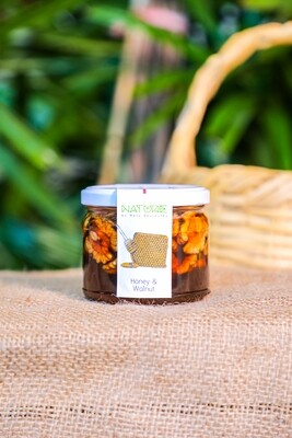 Honey with Walnuts عسل بالجوز (Jar) - Nature by Marc Beyrouthy
