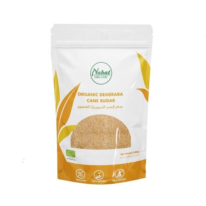 Sugar Cane Demerara Organic (Bag) - Nabat