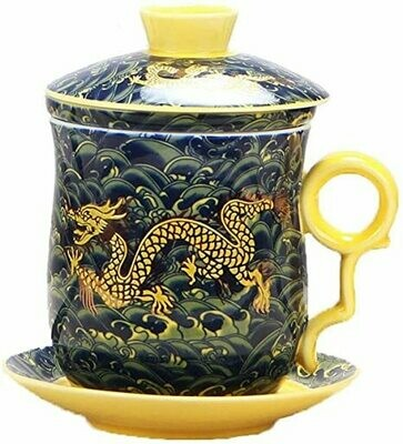 Mug Tea Chinese Dragon Pattern (Piece) -