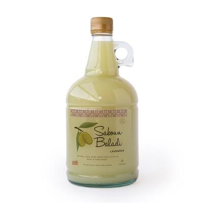 Soap Olive Oil Liquid Lavender (Gallon) - Saboun Baladi