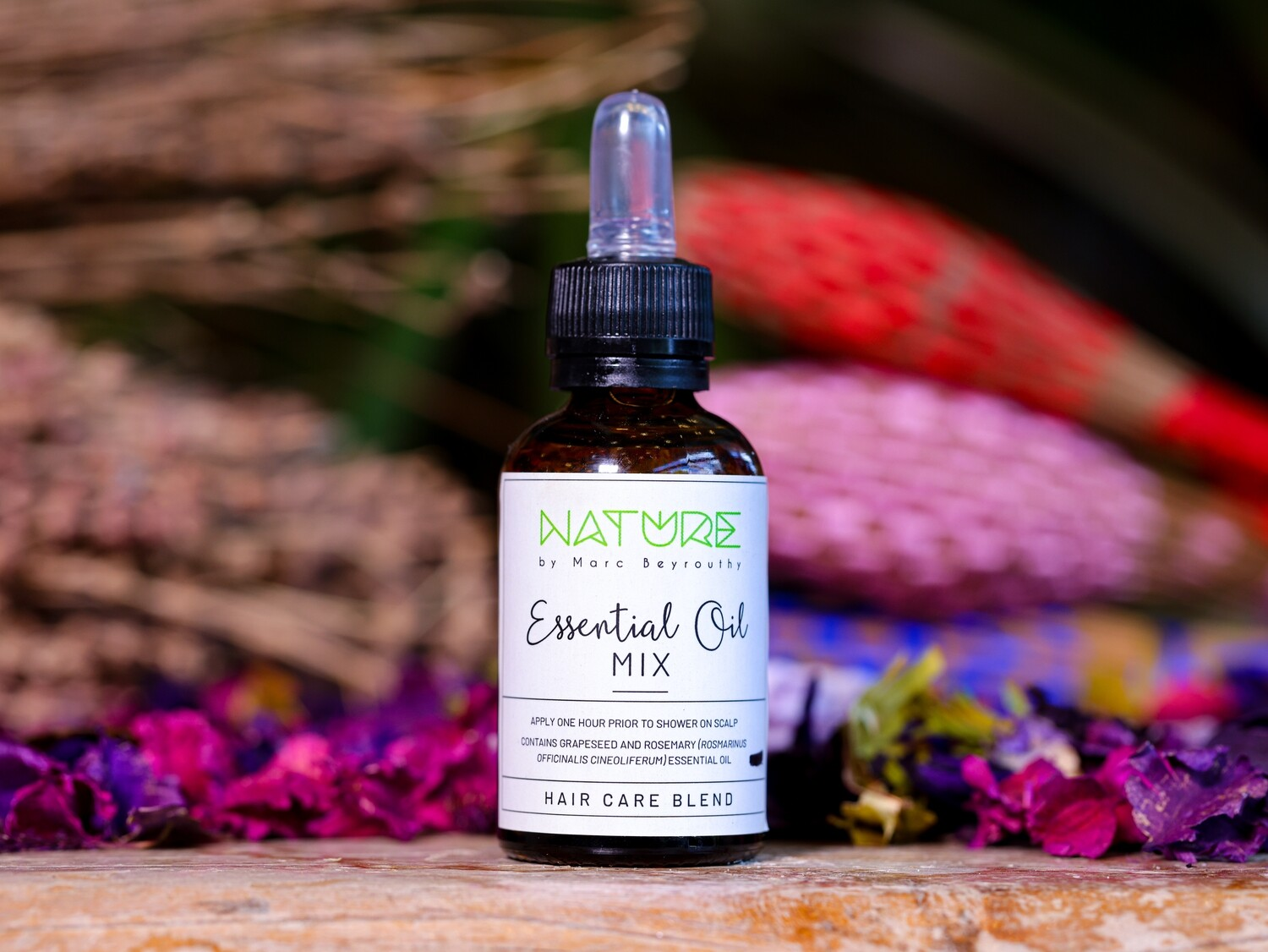 Essential Oil Hair Care (Bottle) - Nature by Marc Beyrouthy