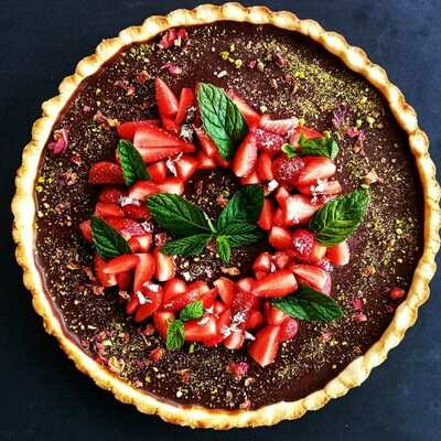 Tart Caramel Chocolate (Piece) - Nuturals