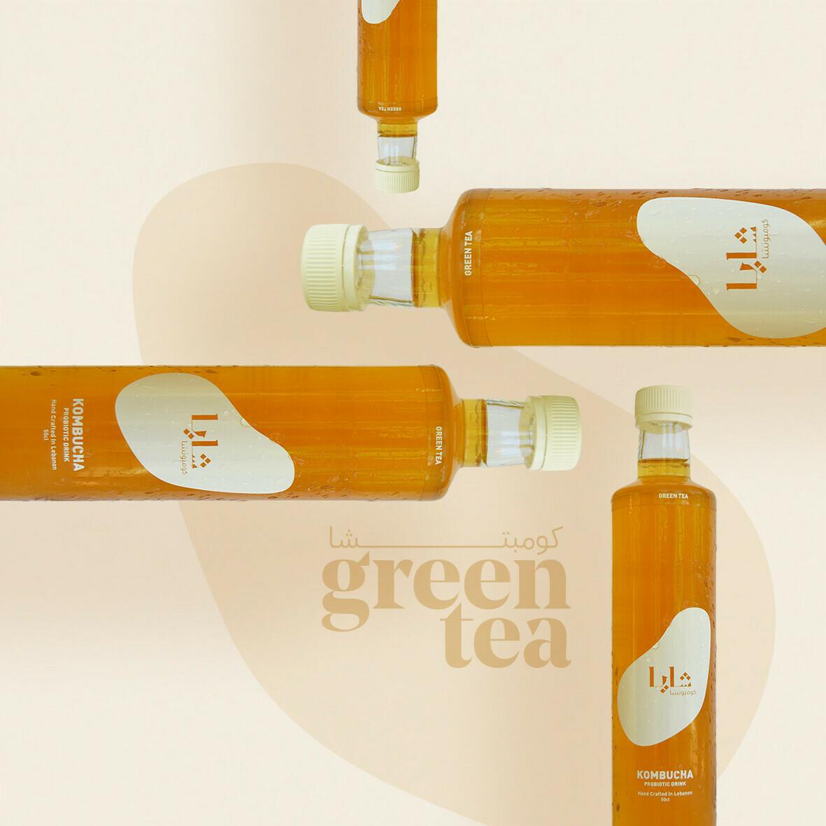 Kombucha Green Tea (Bottle) - Shaya