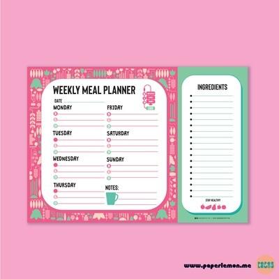 Ramadan Meal Planner - Paperlemon