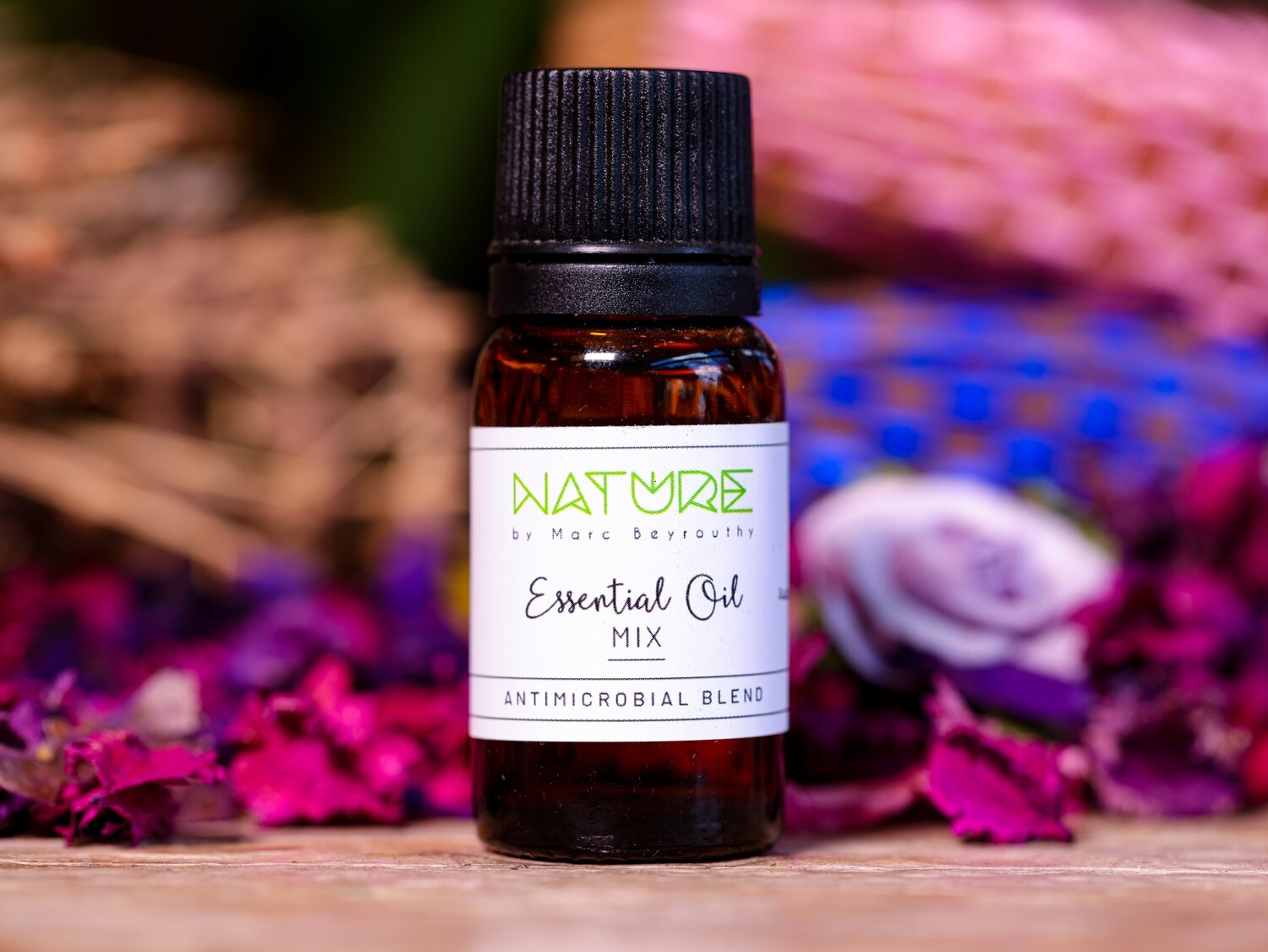 Essential Oil Anti-microbial Blend (Bottle) - Nature by Marc Beyrouthy