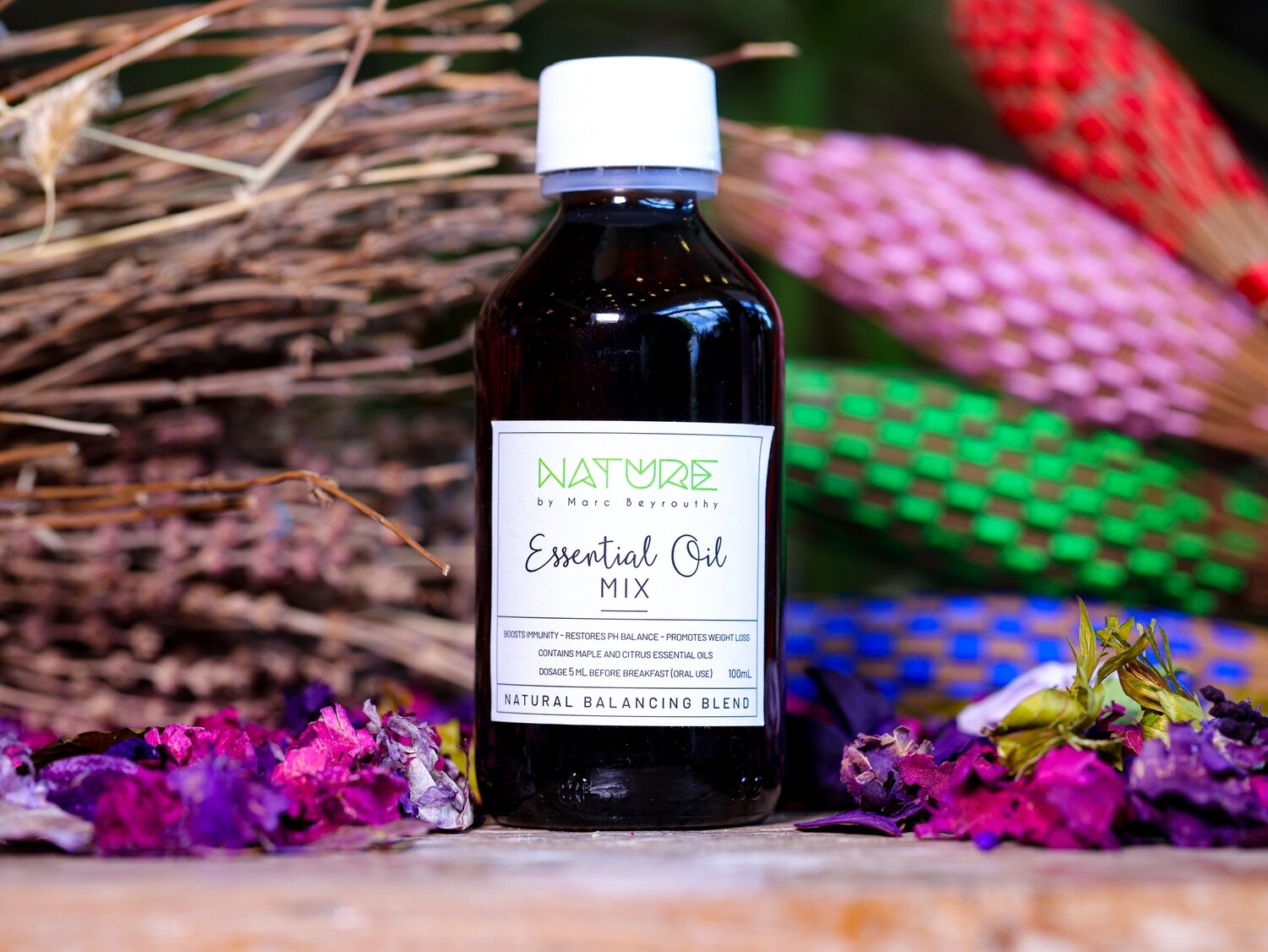 Essential Oil Balancing Blend (Bottle) - Nature by Marc Beyrouthy