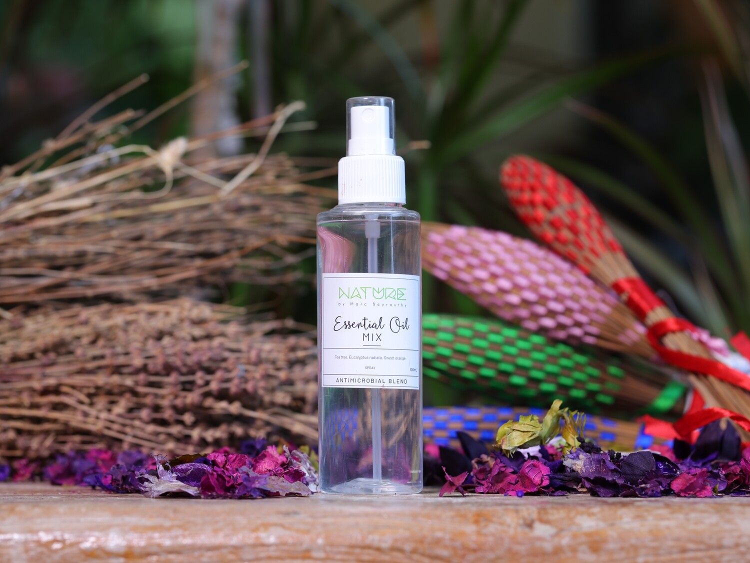 Essential Oil Anti-microbial Blend (Spray) - Nature by Marc Beyrouthy