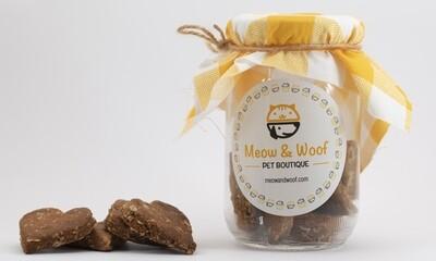 Treats Cookies Banana (Jar) - Meow nd Woof